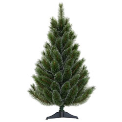 Small Image of Tree Classics 90cm (3ft) Green Siberian Spruce Artificial Christmas Tree (36-98-755)