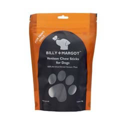Small Image of Billy & Margot Venison Chew Sticks 100g