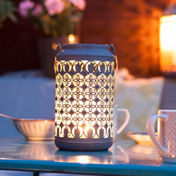 Small Image of Venice Patterned Lantern Small