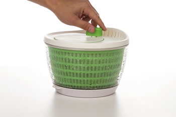 Extra image of Progressive Flow-through Salad Spinner
