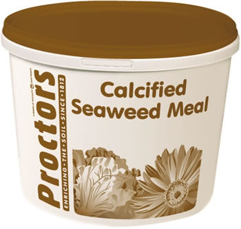 Image of 5kg tub of Proctors Calcified Seaweed general garden fertiliser & soil improver