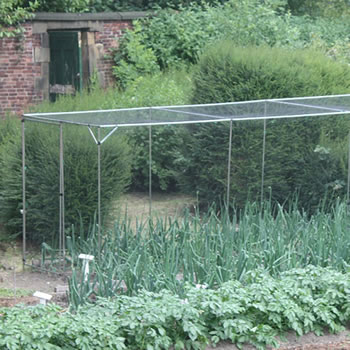 Image of Standard Fruit Cage 183cm high x 549cm wide x 366cm long