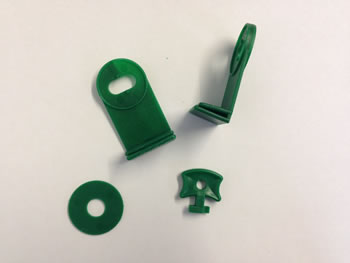 Extra image of 3 x Nutley's Greenhouse Twist Clips with Corner Extenders (Pack of 16)