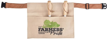 Image of Fallen Fruits Hessian Garden Tool Belt