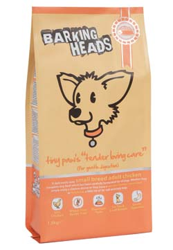 Image of Barking Heads Tiny Paws Tender Loving Care 1.5KG