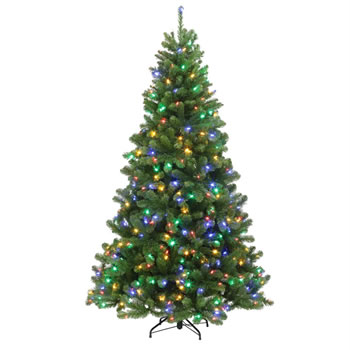 Image of Tree Classics 1.5m (5ft) Green Arctic Spruce Dual Color LED Artificial Christmas Tree (60-386-385LX)