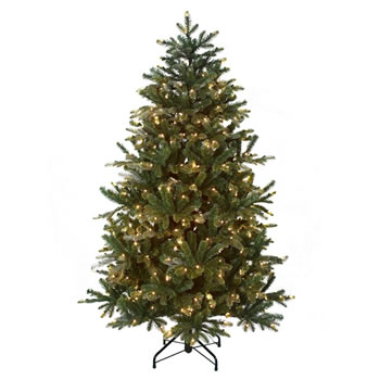 Image of Tree Classics 2.1m (7ft) Matterhorn with Warm LED Artificial Christmas Tree (84-2033-925LM)