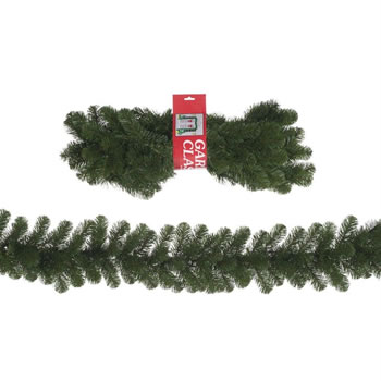 Image of Tree Classics 2.7m x 30cm Green Alaskan Artificial Garland (912-210-850)