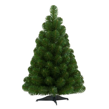 Image of Tree Classics 60cm (2ft) Table Tree Artificial Christmas Tree (24-72-300)