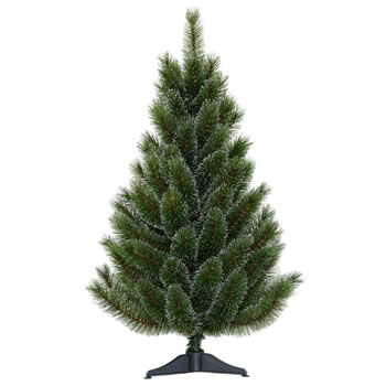 Image of Tree Classics 90cm (3ft) Green Siberian Spruce Artificial Christmas Tree (36-98-755)