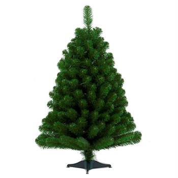 Image of Tree Classics 90cm (3ft) Green Artificial Christmas Table Tree (36-136-300)