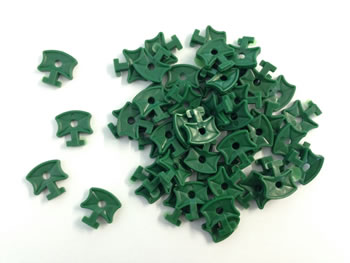Image of 5 x Nutley's Greenhouse Twist Clips (Pack of 50)