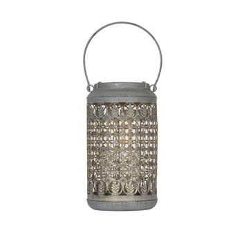Extra image of Venice Patterned Lantern Small