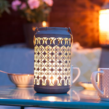 Image of Venice Patterned Lantern Small