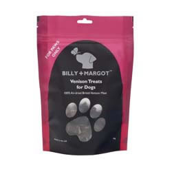 Image of Billy & Margot Venison Treats 75g