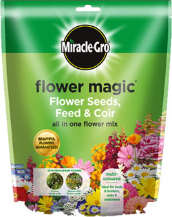 Image of Miracle Gro Flower Magic Multi Coloured 350g