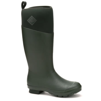 Image of Muck Boot Tremont Tall Wellingtons in Dark Forest - UK Size 6