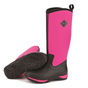 Image of Muck Boot - Arctic Adventure - Hot Pink/Black - UK 3 / EURO 36