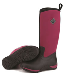 Small Image of Muck Boot - Arctic Adventure - Maroon/Black - UK 6 / EURO 39