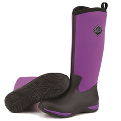 Small Image of Muck Boot - Arctic Adventure - Purple/Black - UK 8 / EURO 42