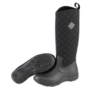 Image of Muck Boot - Arctic Adventure - Black Quilts - UK 8