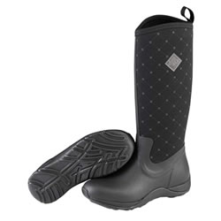 Small Image of Muck Boot - Arctic Adventure - Black Quilts - UK 8