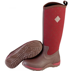 Small Image of Muck Boot - Arctic Adventure - Maroon Prints - UK 5