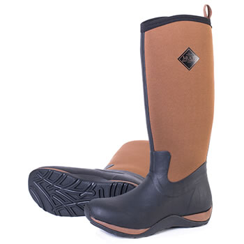 Image of Muck Boot - Arctic Adventure - Tan/Black UK Size 3