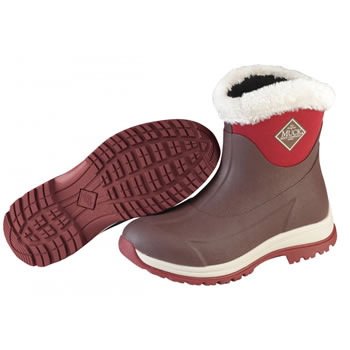 Image of Muck Boot - Arctic Apres Slip-On - Maroon - UK 8