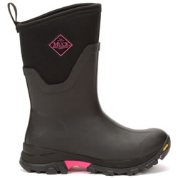 Extra image of Muck Boot - Arctic Ice Mid - Black/Hot Pink - UK 6