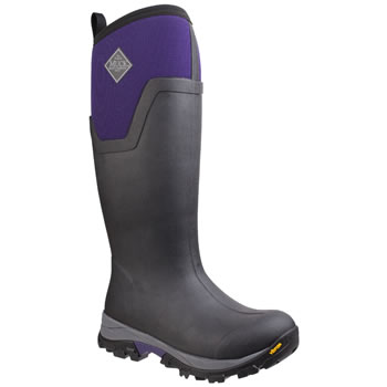 Image of Muck Boot - Arctic Ice Tall  - Purple/Black - UK Size 7