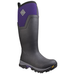Small Image of Muck Boot - Arctic Ice Tall  - Purple/Black - UK Size 7
