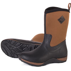 Small Image of Muck Boot - Arctic Weekend - Tan/Black - UK 7