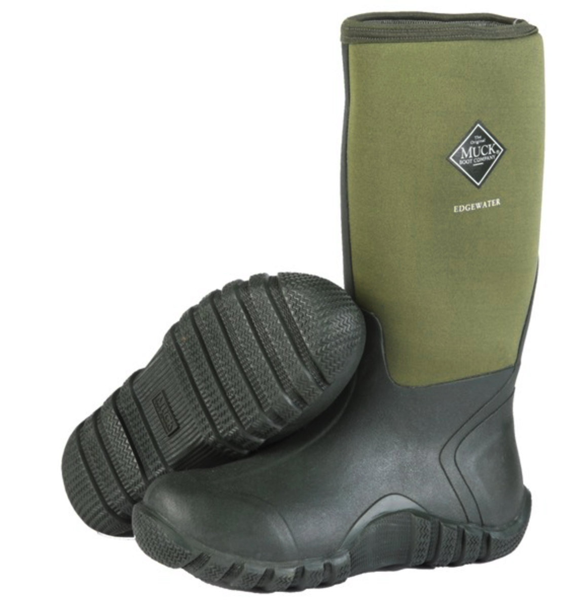 Muck Boot - Edgewater - Moss - £64.99 | Garden4Less UK Shop