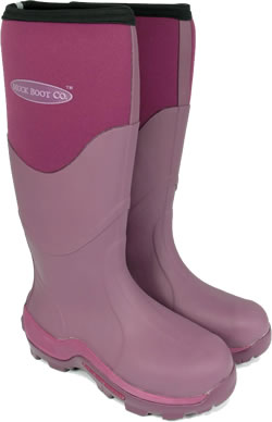 Image of Muck Boot - Greta Tall - Fuchsia -UK 8 / EURO 42