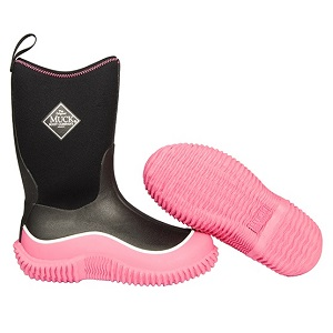 Small Image of Kids Muck Boot - Hale - Pink/Black