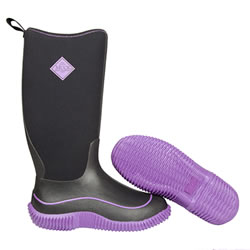 Small Image of Muck Boot - Womens Hale -Purple/Black