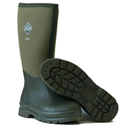 Small Image of Muck Boot - Chore Hi Steel Toe - Moss - UK  5 / EURO 38