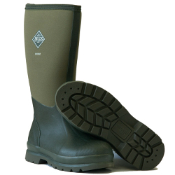 Image of Muck Boot - Chore Hi Steel Toe - Moss - UK 7 / EURO 41