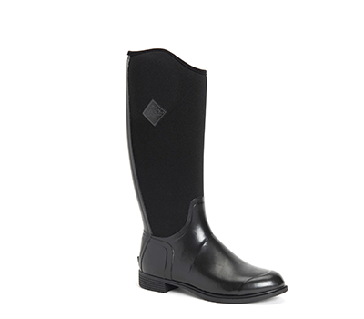Image of Muck Boot Women's Derby Tall Boots in Black - UK 6