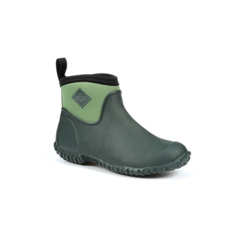 Image of Muck Boot - Women's Muckster Slip-On Ankle Boot - Green - UK 8 / EU 42