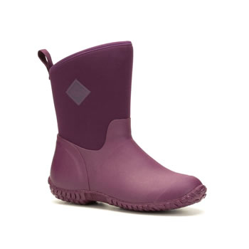 Image of Muck Boot Women's Muckster II RHS Mid Boots - Purple