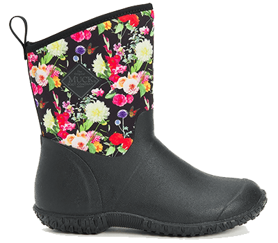 Image of Muck Boot Women's Muckster II Mid Boots in Black/Flora