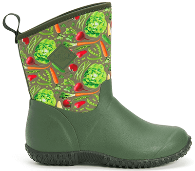 Image of Muck Boot Women's Muckster II Mid Boots in Green/Veg - UK 7