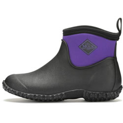 Small Image of Muck Boot - Women's Muckster Slip-On RHS Ankle Boot - Purple