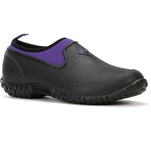 muck boot muckster slip on shoe purple uk 5 163 44 99