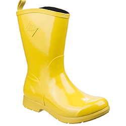 Small Image of Muck Boot Women's Bergen Mid Boots in Yellow - UK 8