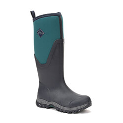 Small Image of Muck Boot Women's Arctic Sport II Tall Boots in Teal/Navy