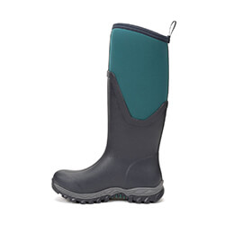 Extra image of Muck Boot Women's Arctic Sport II Tall Boots in Teal/Navy