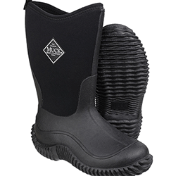 Extra image of Muck Boot Kids Hale Tall Wellies in Black - UK 4